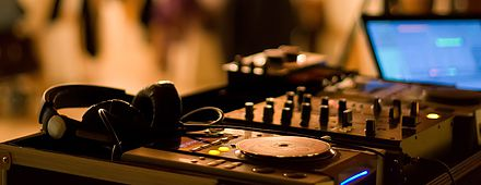 DJ Decks at Left Bank Bar Entertainment in Kilkenny