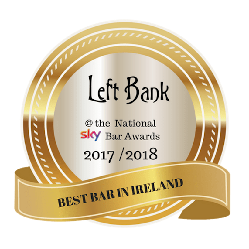 VOTED THE BEST BAR IN IRELAND